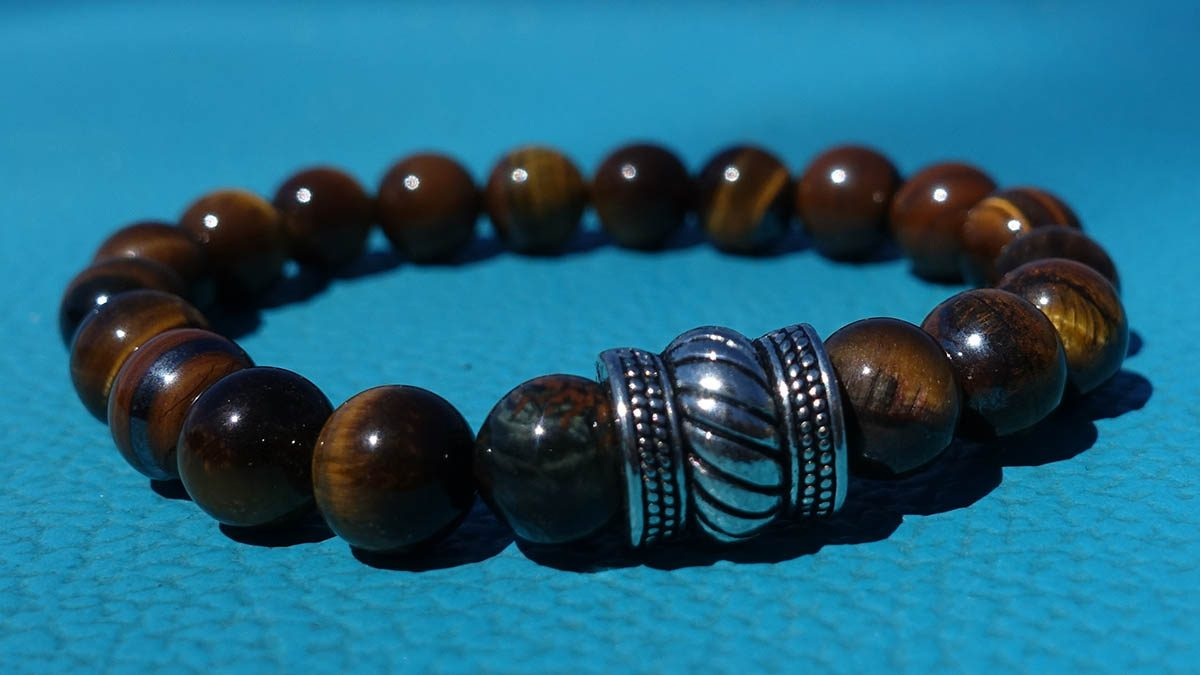 Bali Basic Brown Tiger Eye Setting 1