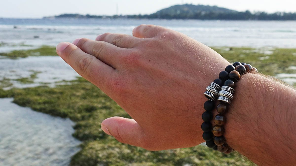 Bali Basic Black Agate setting 3