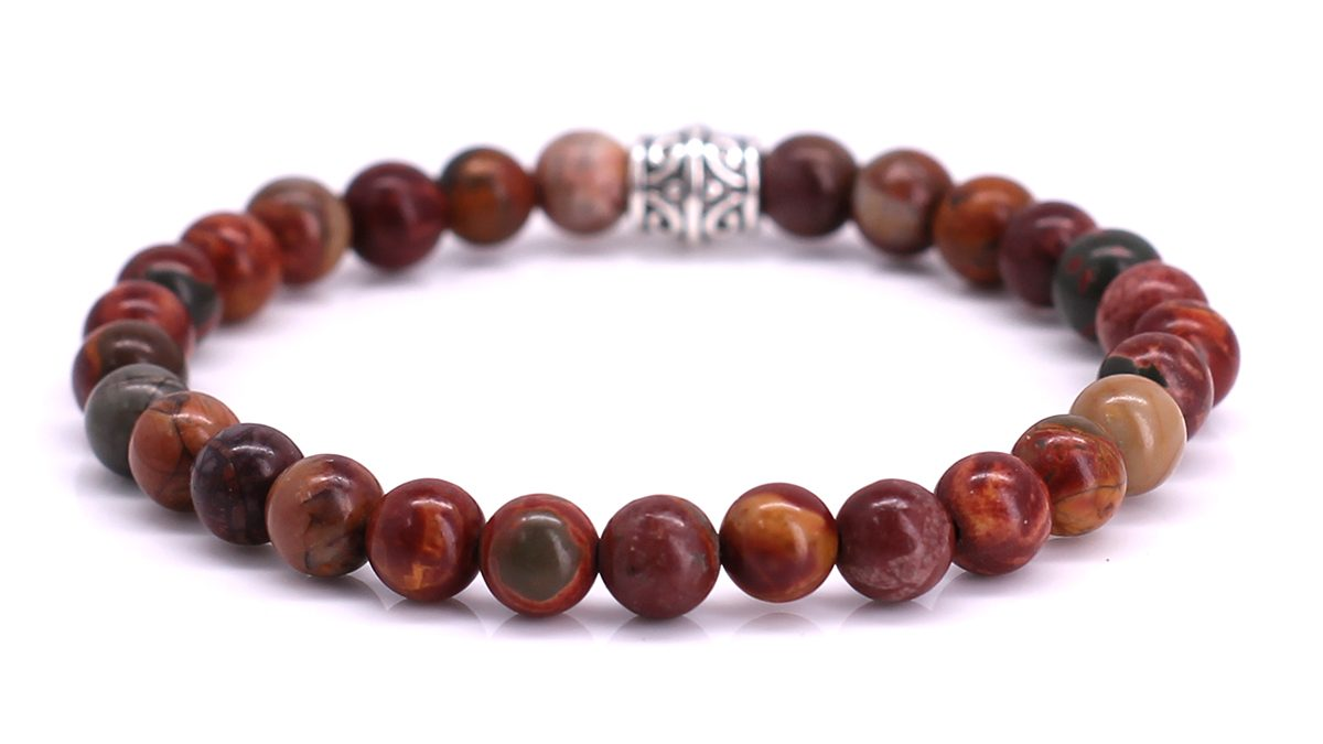 Basic Red Picture Jasper Product Image Back