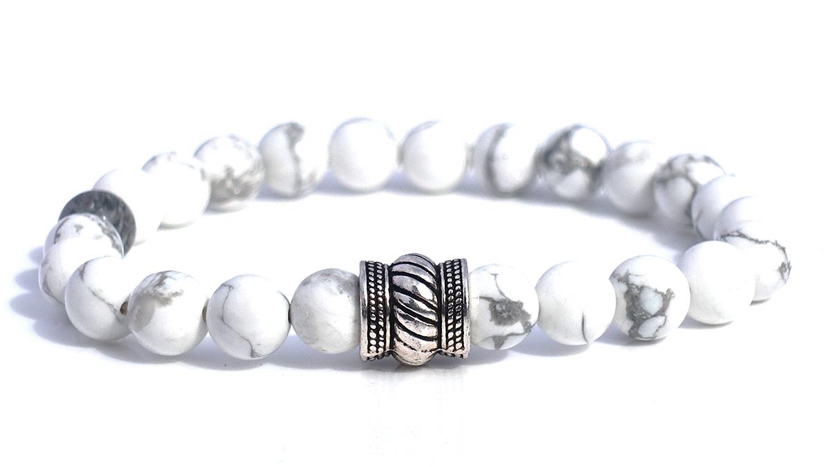 Bali Basic White Howlite Product Image