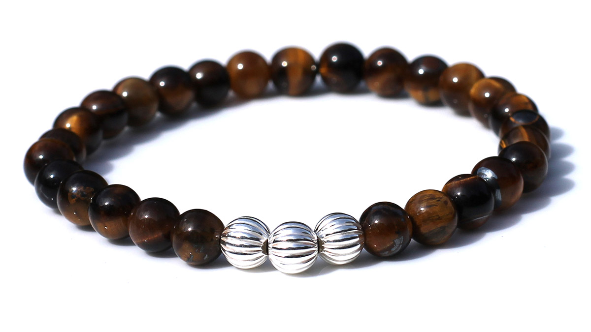 Minimal Brown Tiger Eye Product Image Front