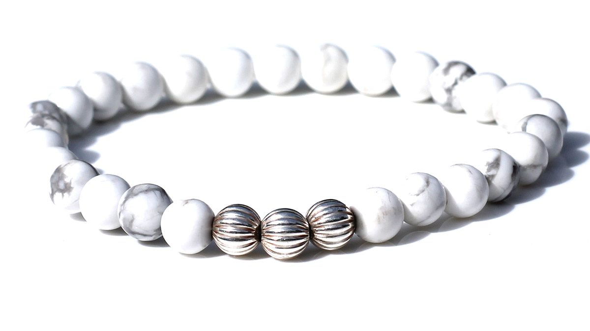 Minimal White Howlite Product Image Front