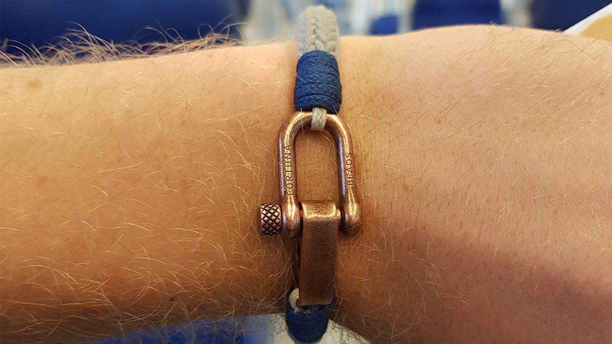 Nautical C2 Copper Grey Bracelet Setting 1