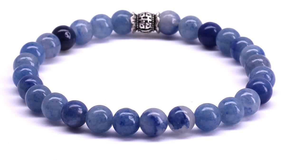 FortunaBeads Candy Aventurine bracelet Back image