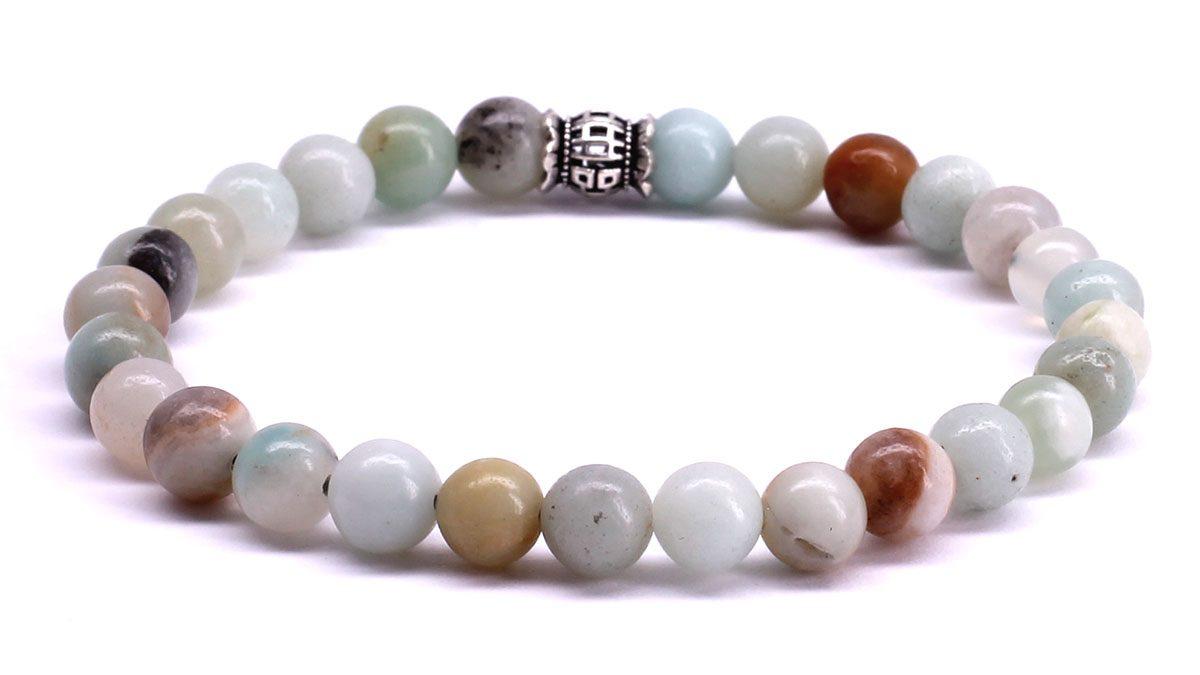 FortunaBeads Candy Amazonite bracelet Back image