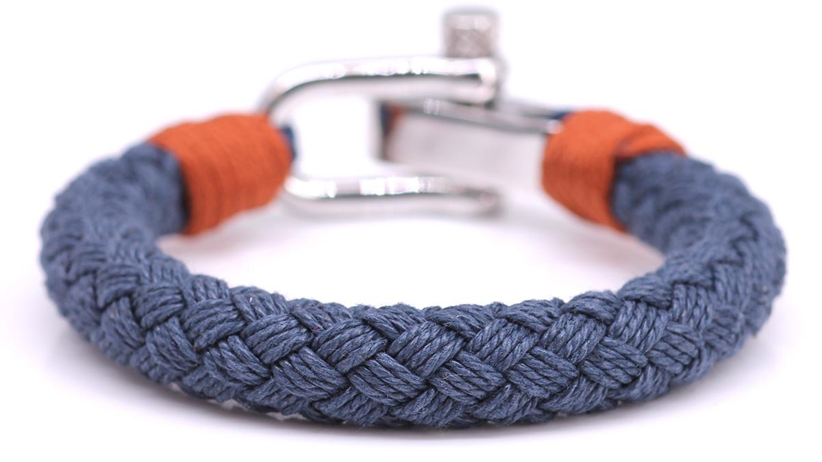 Nautical S3 Blue Rope bracelet Product image front back