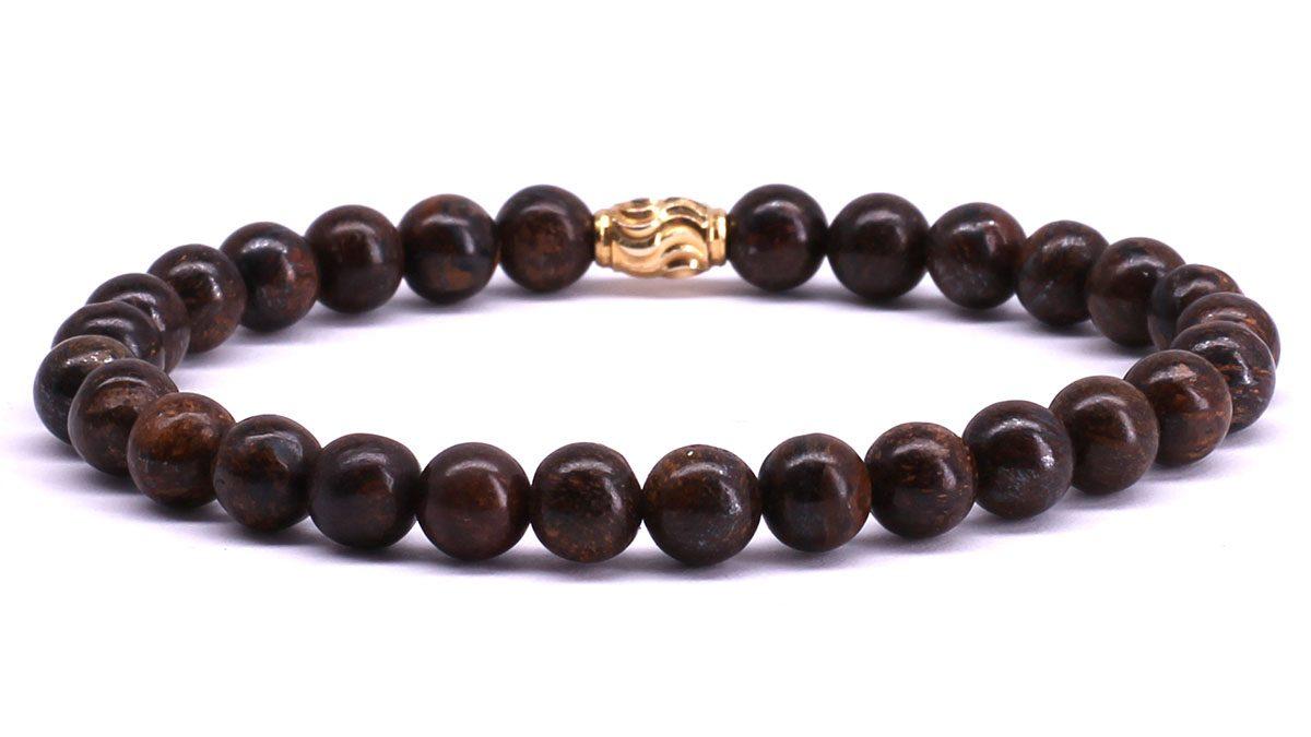 FortunaBeads Premium Bronziet bracelet Back image