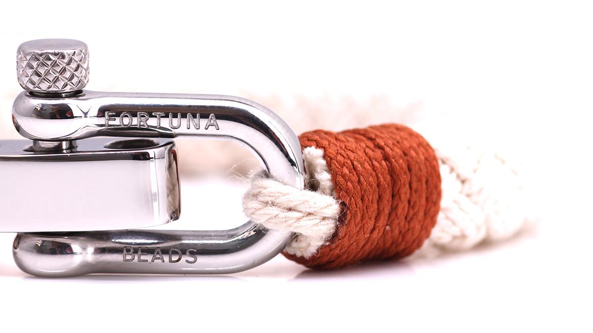 Nautical S1 Sand Rope bracelet Product image Clasp