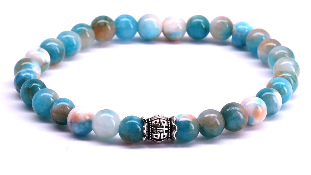 FortunaBeads Candy Sandy Brown bracelet Front image
