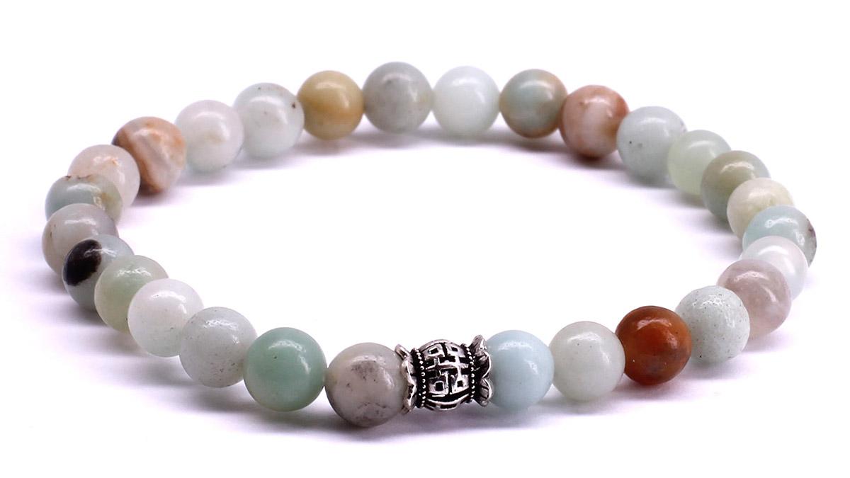 FortunaBeads Candy Amazonite bracelet Front image