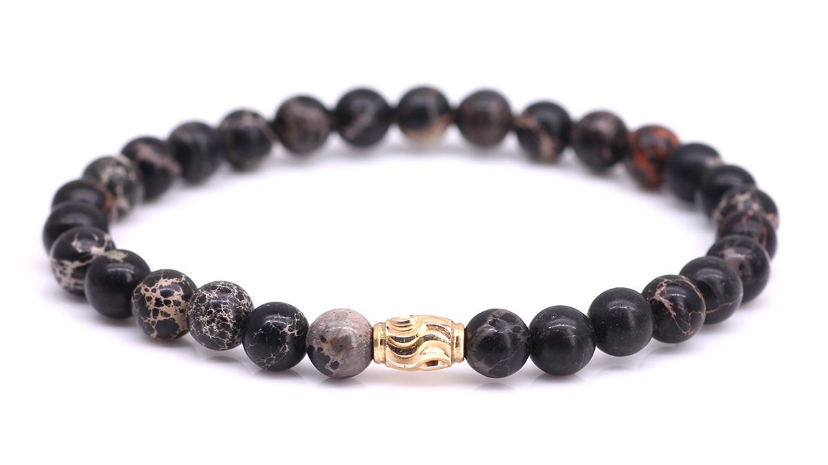 Premium Regalite Black bracelet Product image front