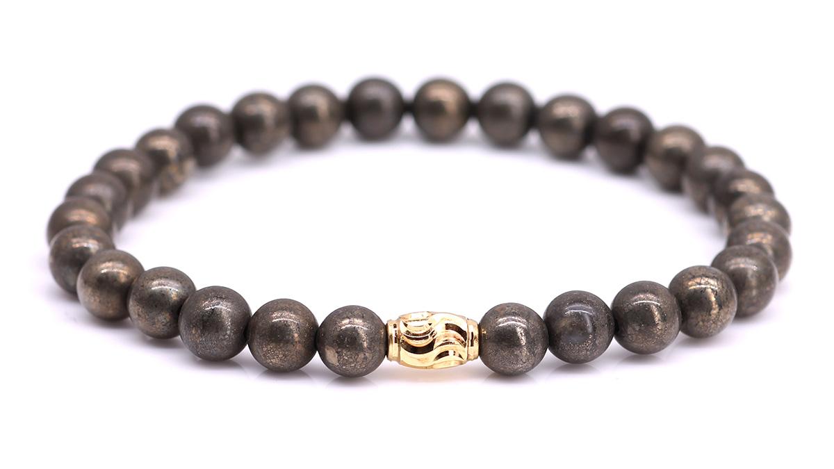 Premium Pyrite bracelet Product image front