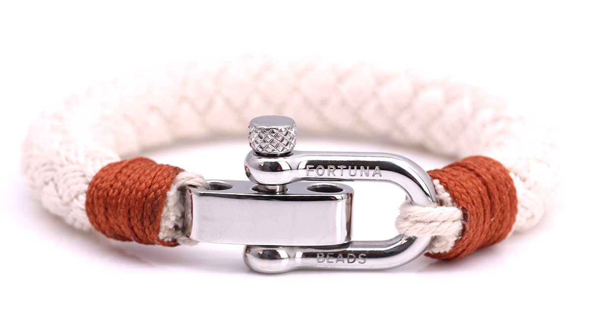 Nautical S1 Sand Rope bracelet Product image front