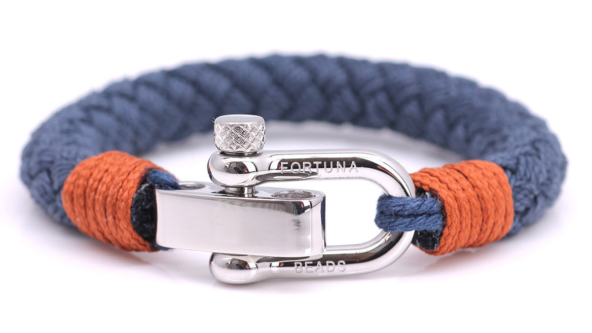 Nautical S3 Blue Rope bracelet Product image front front