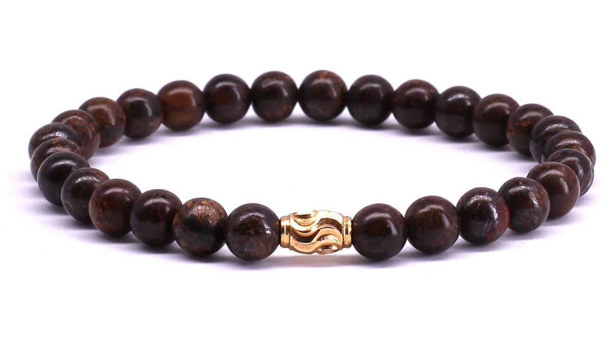 FortunaBeads Premium Bronziet bracelet Front image