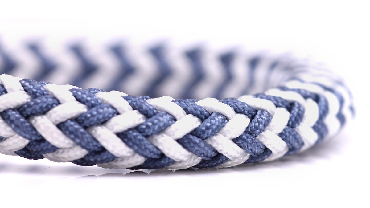 Nautical C3 White Blue bracelet Product image rope