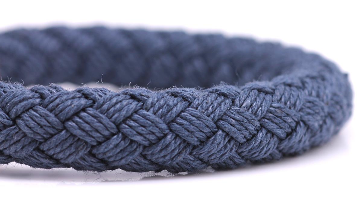 Nautical S3 Blue Rope bracelet Product image front rope