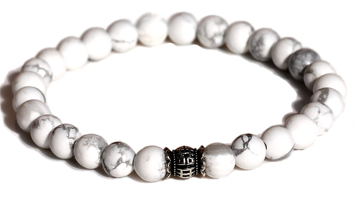 Candy White Howlite Product Image Front