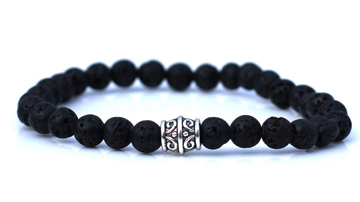 Lava Stone Bracelet Set Basics
