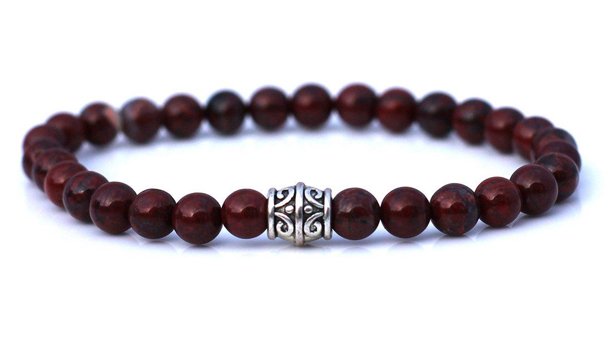 Red Agate Bracelet Set Basics