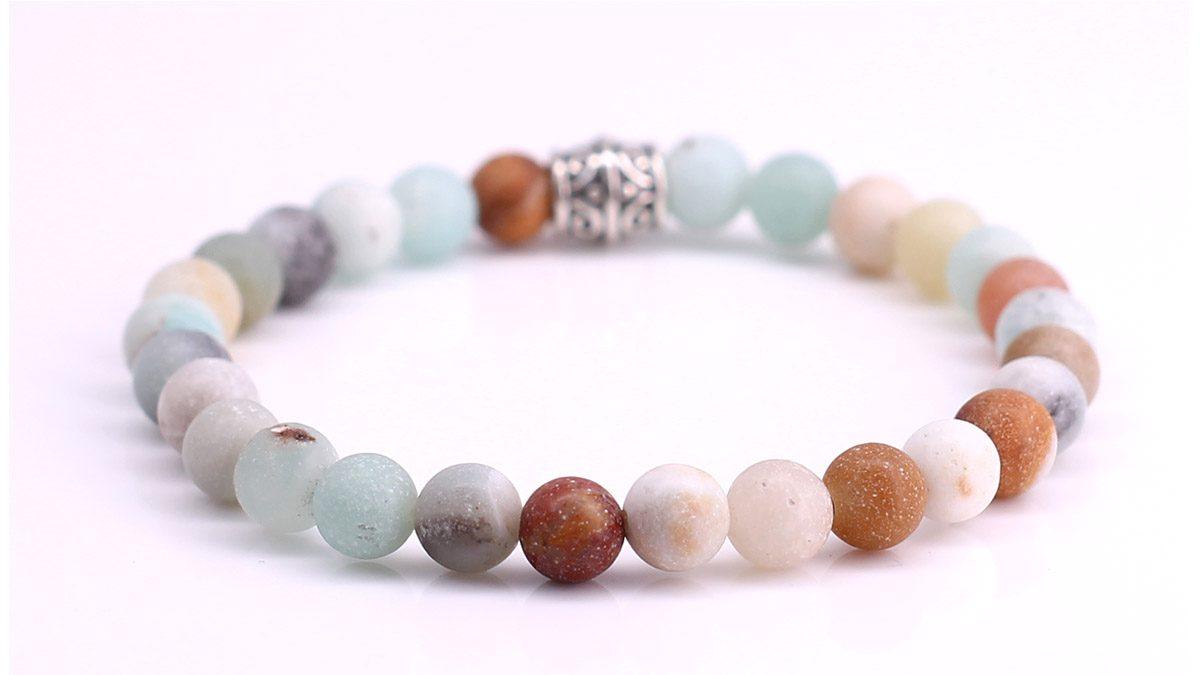 Amazonite bracelet Product image back