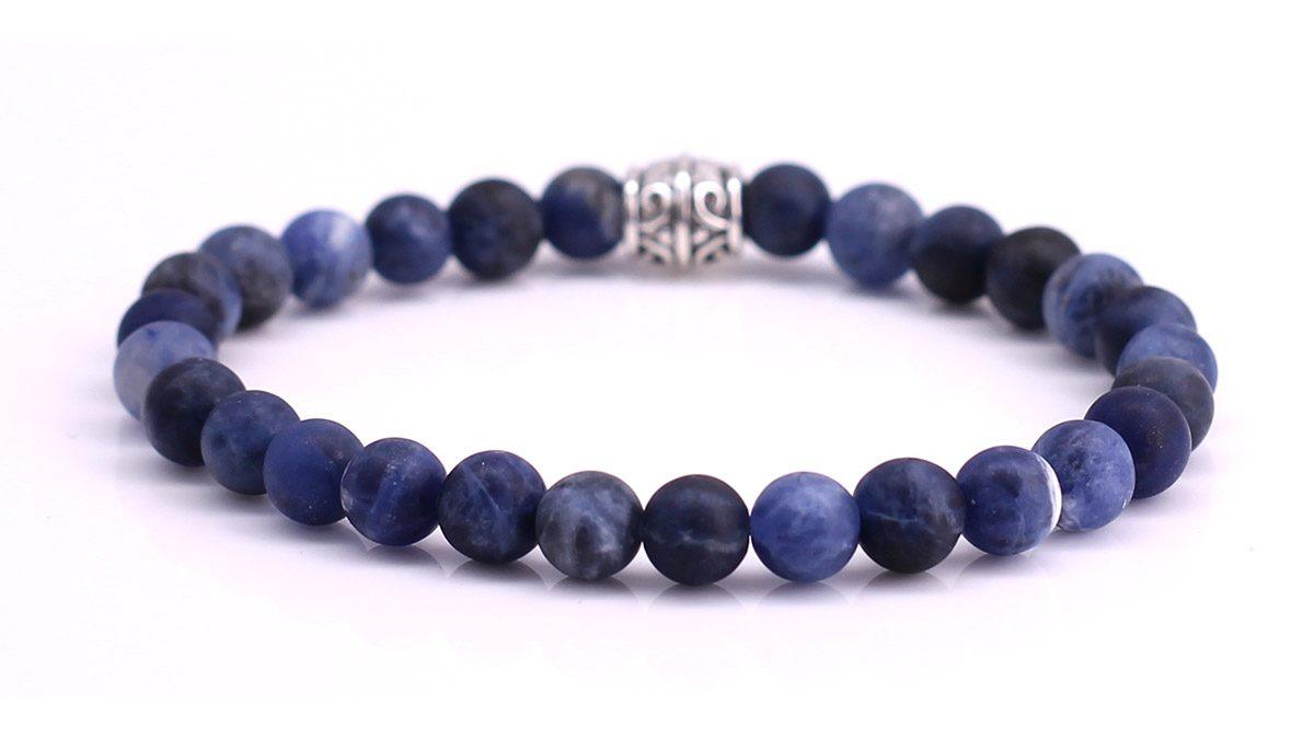 Sodalite Mat bracelet Product image back