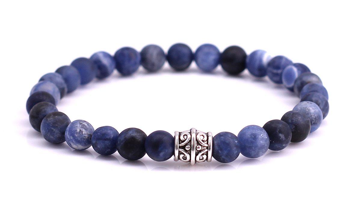 Sodalite Mat bracelet Product image front