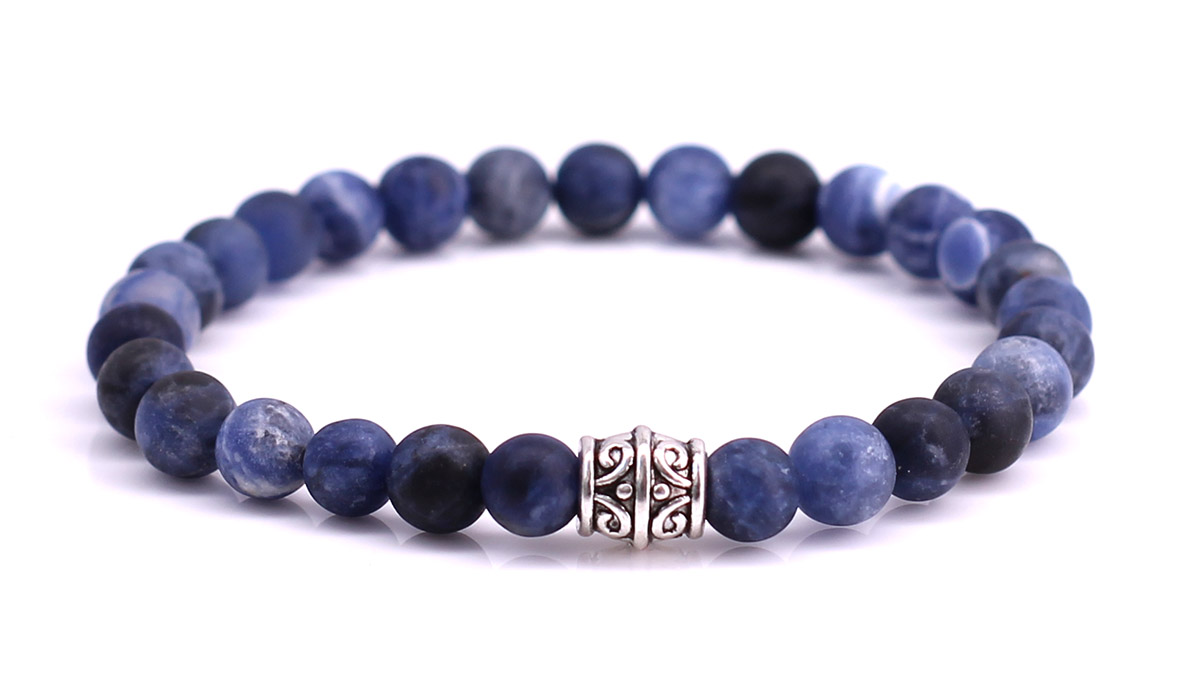 Sodalite Mat bracelet Product image front