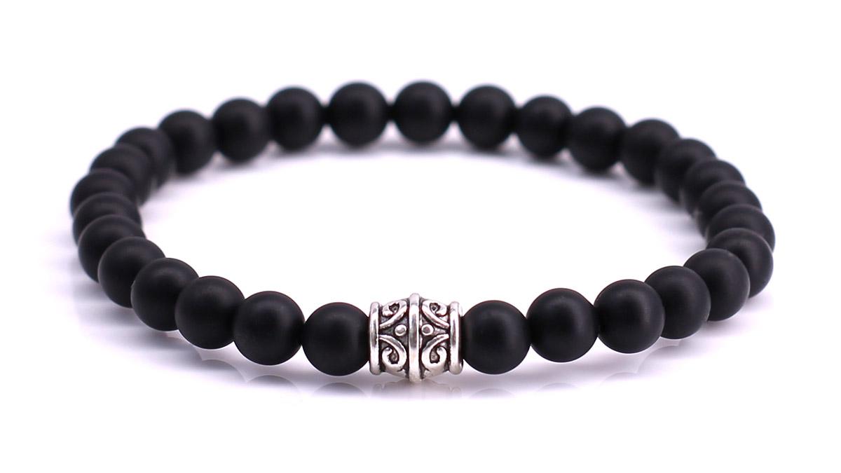 Black Onyx Mat bracelet Product image front
