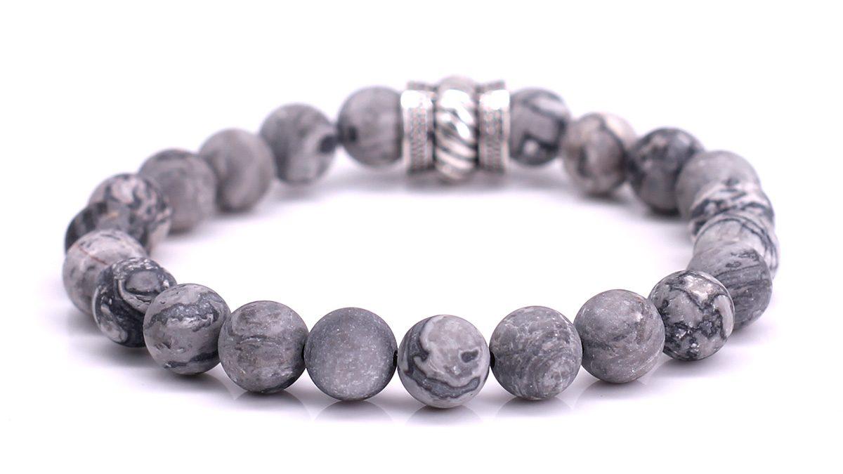 Bali Netstone Mat bracelet Product image Back