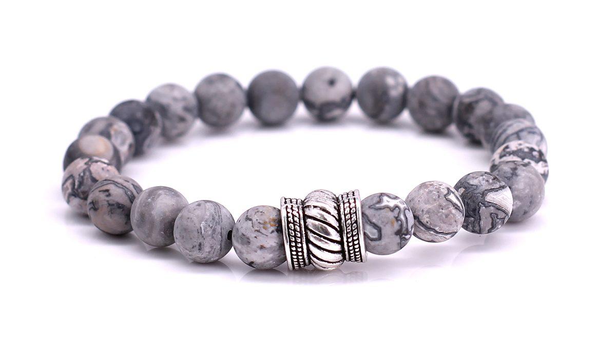 Bali Netstone Mat bracelet Product image front