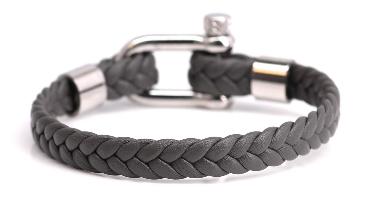 Nautical L7 grey bracelet Product image back