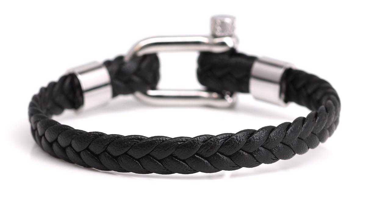 Nautical L5 Black bracelet Product image back