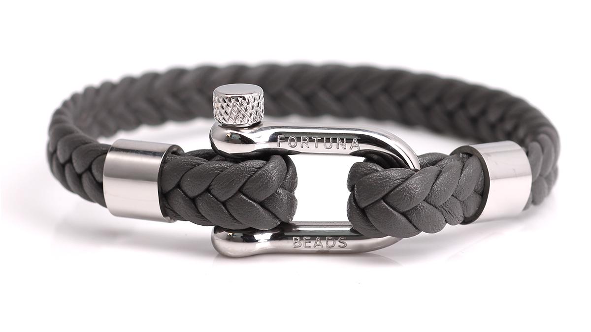 Nautical L7 grey bracelet Product image front