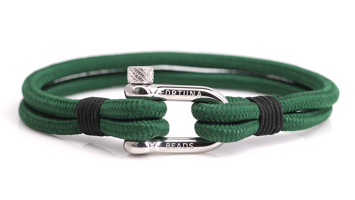 Nautical N1 green bracelet Product image front