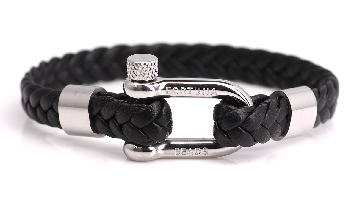 Nautical L5 Black bracelet Product image front