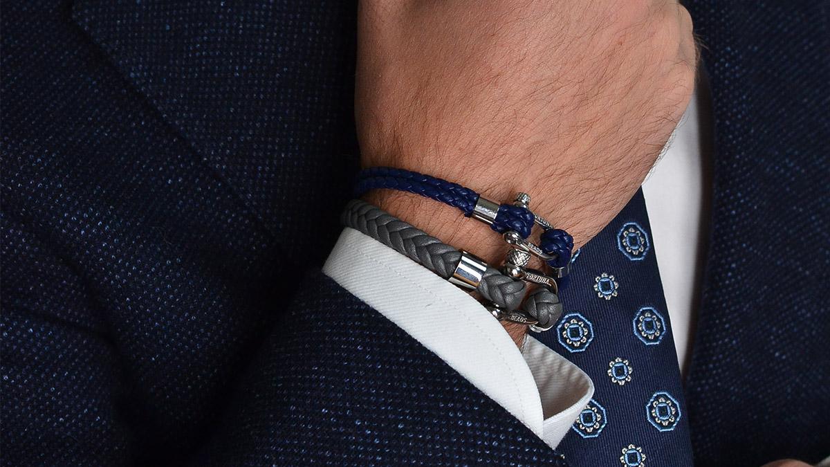 Nautical L7 grey bracelet Product image s