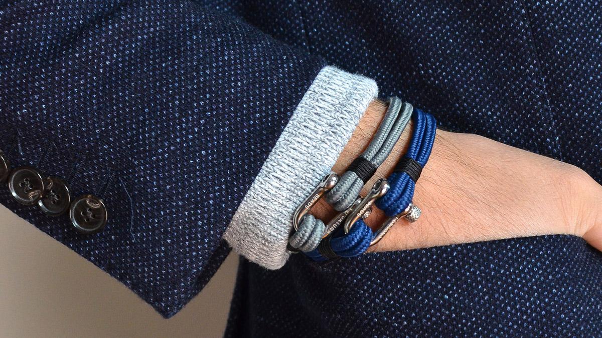 Nautical N2 blue bracelet Setting 1