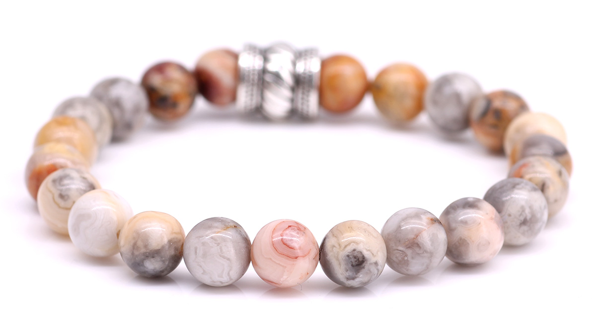 Bali Crazy Agate bracelet Product image back