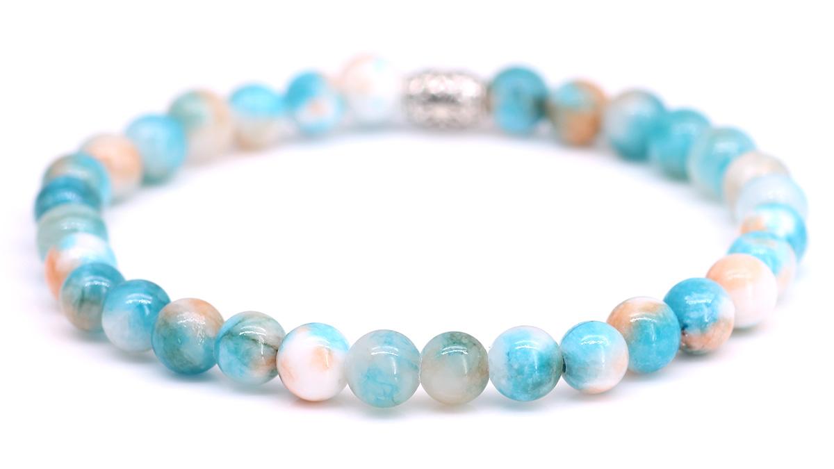 Lily Jade Sandy Brown bracelet Product image back