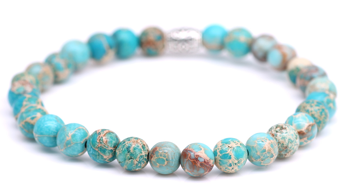 Lily Regalite Sky Blue bracelet Product image back