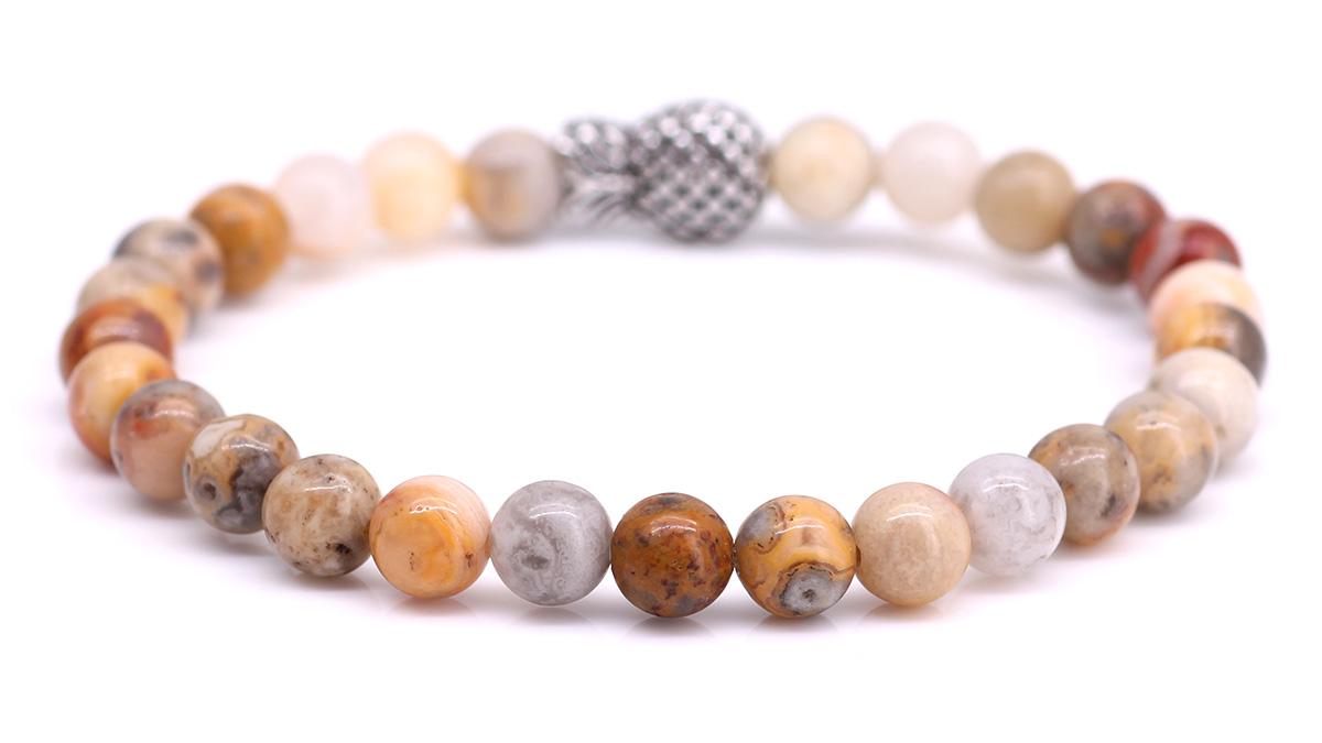 Piney Crazy Agate bracelet Product image back