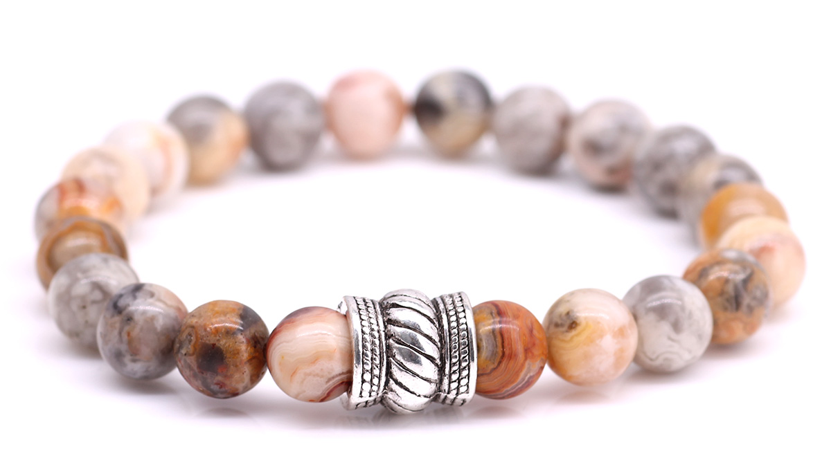 Bali Crazy Agate bracelet Product image front