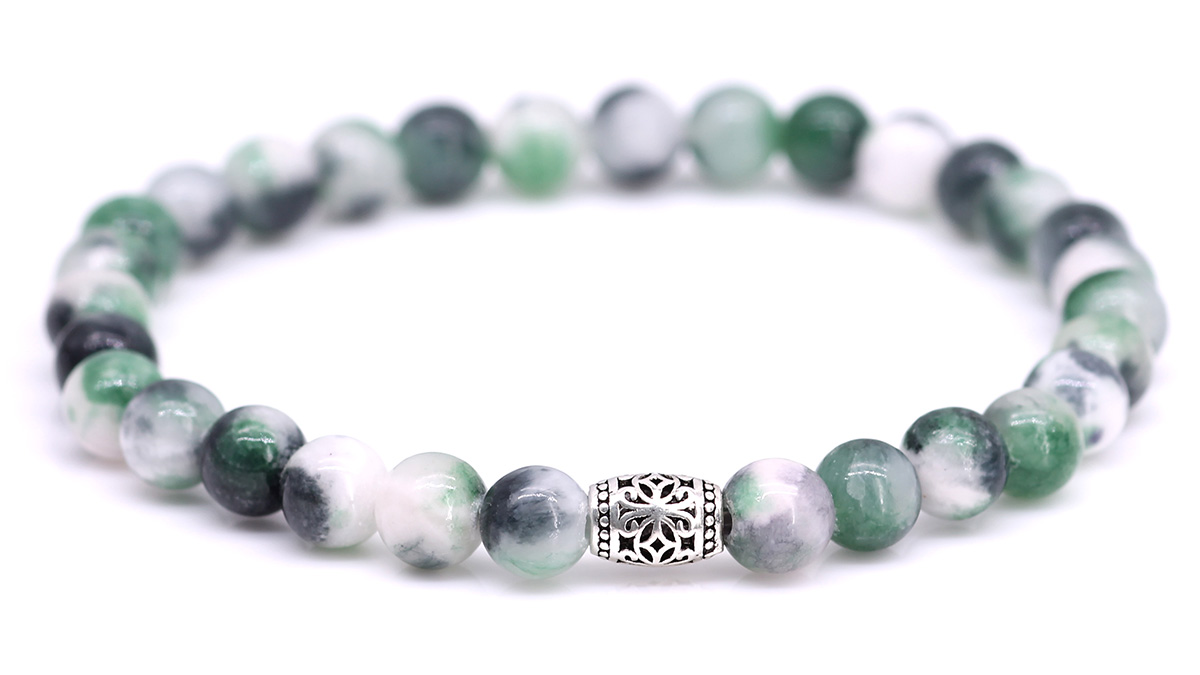 Lily Jade Medium Sea Green bracelet Product image front