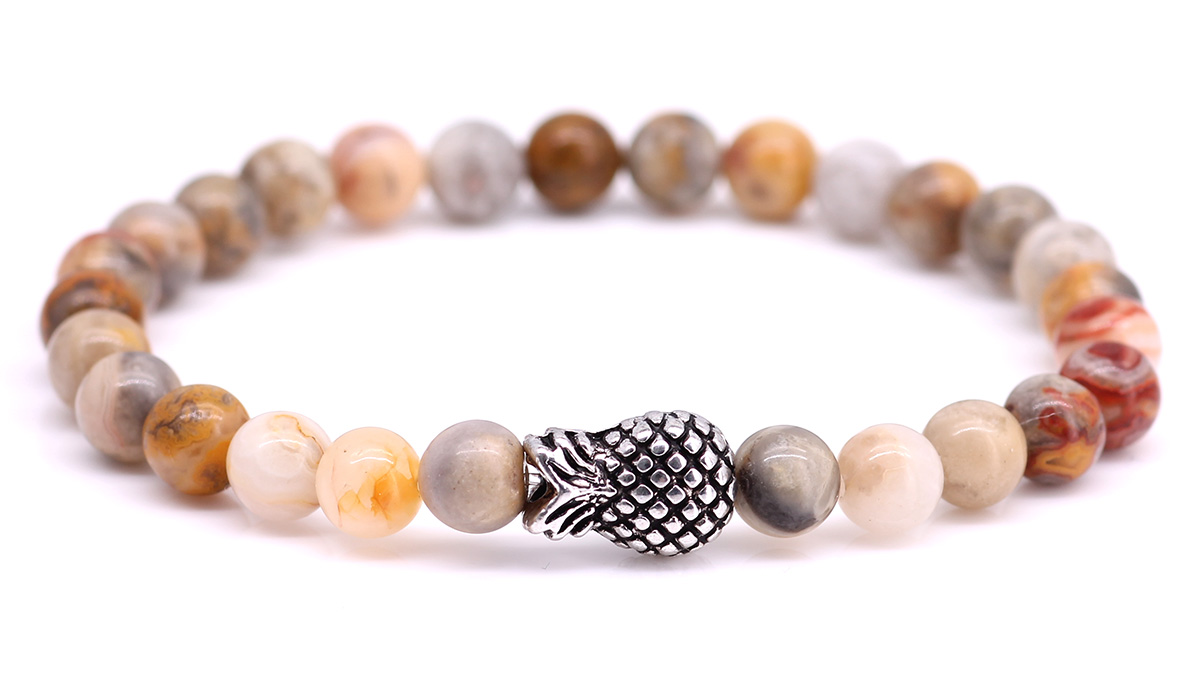 Piney Crazy Agate bracelet Product image front