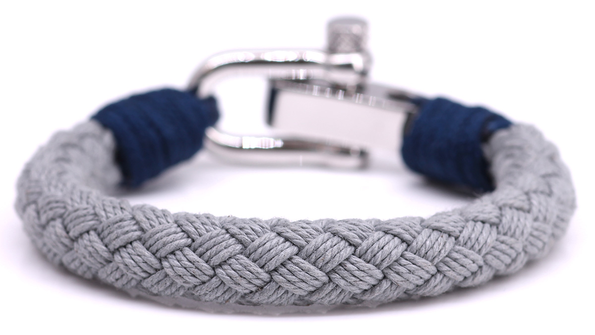 Nautical S6 Grey Rope bracelet Product image back