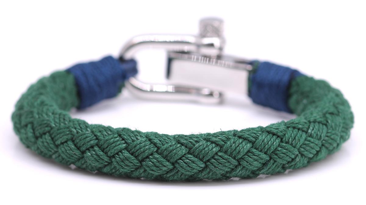 Nautical S4 Green Rope bracelet Product image back