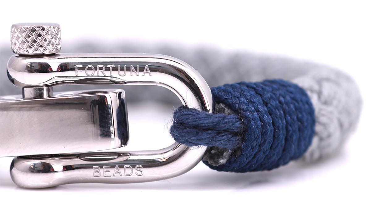Nautical S6 Grey Rope bracelet Product image clasp