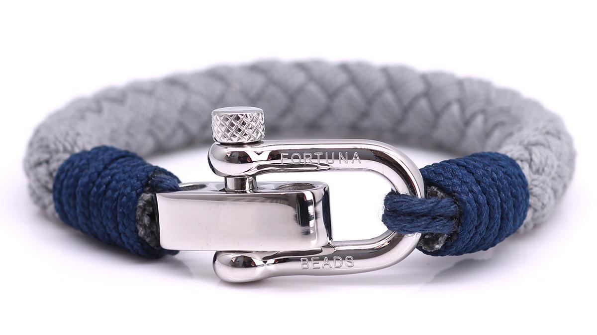 Nautical S6 Grey Rope bracelet Product image front