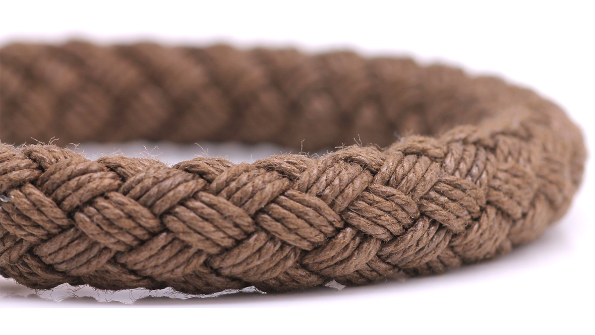 Nautical S5 Brown Rope bracelet Product image rope